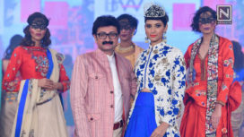 Ashok Maanay Showcases at India Beach Fashion Week 2017