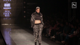 VJ Anushka Manchanda for Nought One at Amazon India Fashion Week AW 2017