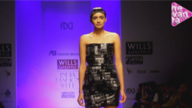 Anand Bhushan @ Wills Lifestyle India Fashion Week AW 13