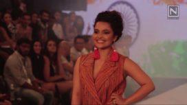 Chitrashi Rawat Walks For Amin Farista at India Beach Fashion Week 2017