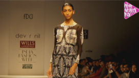 Dev R Nil @ Wills Lifestyle India Fashion Week AW 13