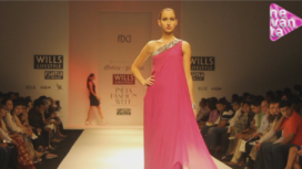 Dhruv and Pallavi @ Wills Lifestyle India Fashion Week AW13