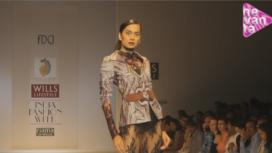 Hemanth and Nandita @ Wills Lifestyle India Fashion Week