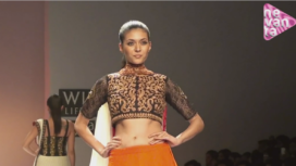 Joy Mitra @ Wills Lifestyle India Fashion Week