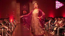 Meera and Muzzaffer Ali @ Bangalore Fashion Week AW12