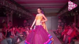 Model Farah Mesmerises the Audience