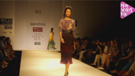 Sanchita Ajampur @ Wills Lifestyle India Fashion Week AW 13