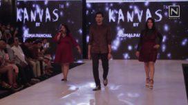 Sumeet and Nidhi Walks for Komal Panchal at India Beach Fashion Week 2017