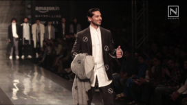 Dino Morea Walks for Sahil Aneja at Amazon India Fashion Week 2017