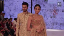 Shyamal and Bhumika at India Beach Fashion Week 2017