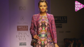 Sonia Jetleey @ Wills Lifestyle India Fashion Week AW13