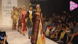 When Indian Fabrics Get a Western Tweak