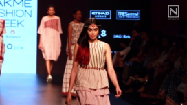 Adah Sharma for Galang Gabaan at Lakme Fashion Week Summer Resort 2017