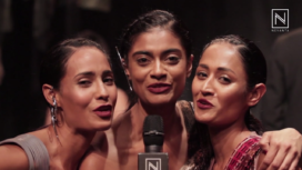 Models Post Grand Finale of Amazon India Fashion Week AW 2017