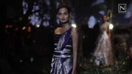 Designers Experiment with Sari Styling this Season