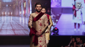 Puneesh Chopra Showcases at India Luxury Style Week 2017