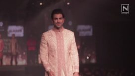 Abrar Zaroor & Rafi Malik Walk for Madhu Singh at India Luxury Style Week 2017