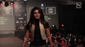 Rimi Sen Walks for Rohit Kamra at India Luxury Style Week 2017
