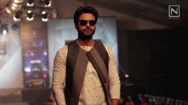 Vivek Karunakaran at India Luxury Style Week 2017
