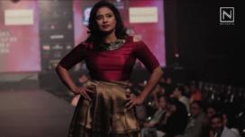RJs Walk for Neema Kumar at India Luxury Style Week 2017