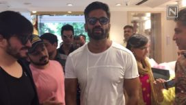 Suneil Shetty Launches an Apparel Brand in Bengaluru