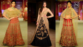 Athiya Shetty Walks for Shyamal & Bhumika at India Couture Week 2017