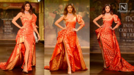 Shilpa Shetty Turns Perfect Muse to Monisha Jaising at India Couture Week 2017