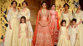 Tree of Love by Anita Dongre at India Couture Week 2017
