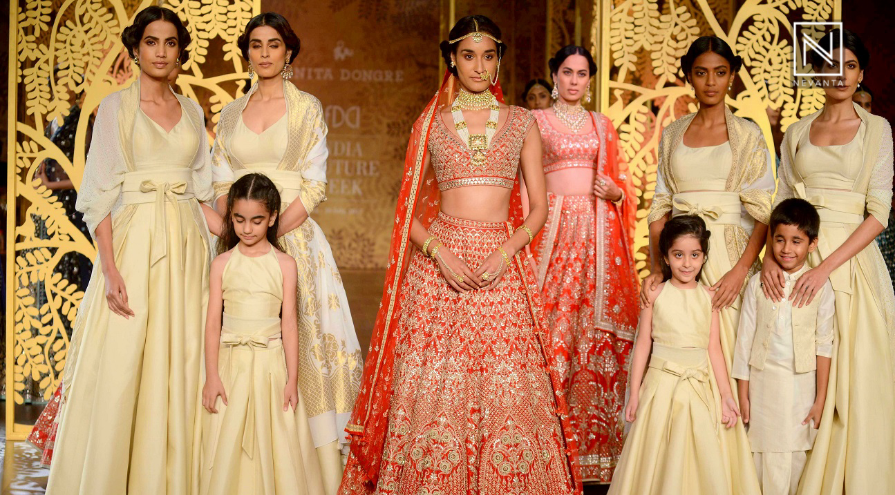 Tree of Love by Anita Dongre at India Couture Week 2017 - Nevanta