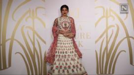 Vintage Floral Stories by Varun Bahl at India Couture Week 2017