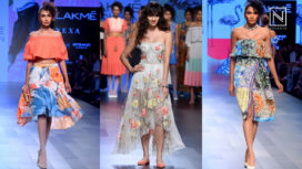 Disha Patani Turns Perfect Muse to Ritu Kumar at Lakme Fashion Week Winter Festive 2017