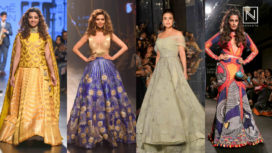 Bollywood Showstoppers at Lakme Fashion Week Winter Festive 2017