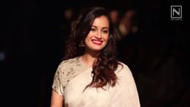 Bollywood Divas in Anavila at Lakme Fashion Week Winter Festive 2017