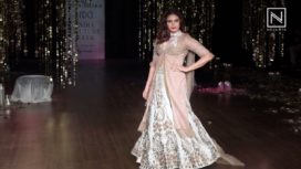 Huma Qureshi Turns Bride for Rina Dhaka at India Couture Week 2017