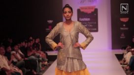 Namrata Sanghi at Bangalore Fashion Week Winter Festive 2017