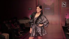 Pallavi Sharda Walks for Pria Kataari Puri at Bangalore Fashion Week WF 2017