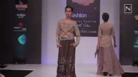 Purvi Doshi at Bangalore Fashion Week Winter Festive 2017
