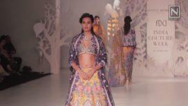 Rahul Mishra at India Couture Week 2017