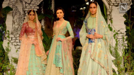 Sunehari Kothi by Anju Modi at India Couture Week 2017