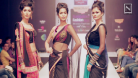 Seema Singh at Bangalore Fashion Week Winter Festive 2017