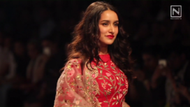 Shraddha Kapoor Turns Perfect Muse to Rahul Mishra at Lakme Fashion Week WF 2017