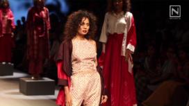 Sunita Shanker at Lakme Fashion Week Winter Festive 2017