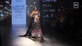 Kriti Sanon Turns Muse for Arpita Mehta at Lakme Fashion Week Winter Festive 2017