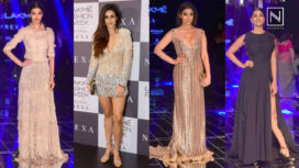 Red Carpet Appearances for Manish Malhotra at Lakme Fashion Week WF 2017