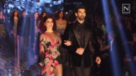 Grand Finale by Manish Malhotra at Lakme Fashion Week Winter Festive 2017