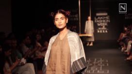 Nakita Singh at Lakme Fashion Week Winter Festive 2017