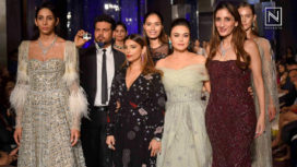 Designers and their Showstoppers- Preity Zinta and Ujjwala Raut