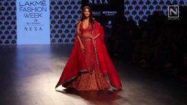 Vaani Kapoor Walks for SVA at Lakme Fashion Week Winter Festive 2017