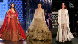 Bollywood Celebs- What Goes in Mind on Ramp