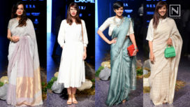 Red Carpet Appearances for Anavila at Lakme Fashion Week Winter Festive 2017